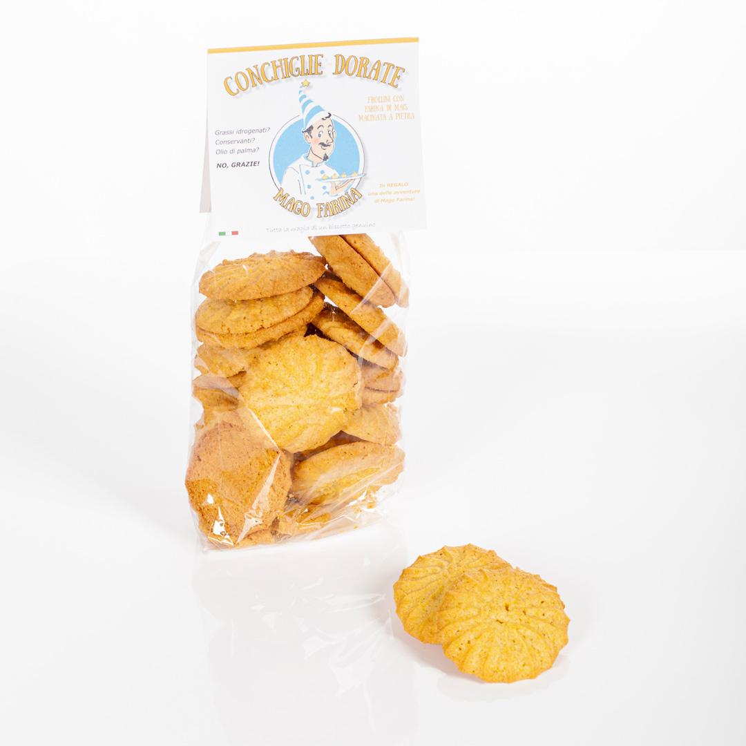 conchiglie-dorate-mago-farina-biscotti-versilia
